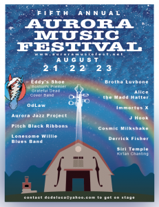 Aurora Music Fest Line Up 2015